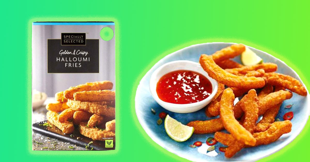 Exciting news: Aldi has relaunched its halloumi fries for £2.29