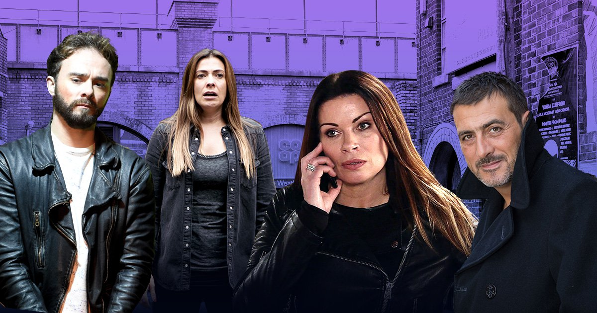 Coronation Street spring spoilers revealed for Carla Connor, David Platt, Michelle Connor and Peter Barlow
