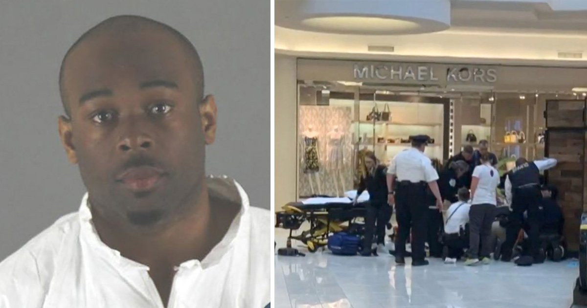 Stranger who 'hurled boy, 5, off mall balcony' had been ordered to stay away