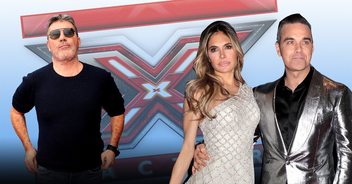 Robbie Williams and Ayda Field quit The X Factor after Simon Cowell refused to increase £10 million pay