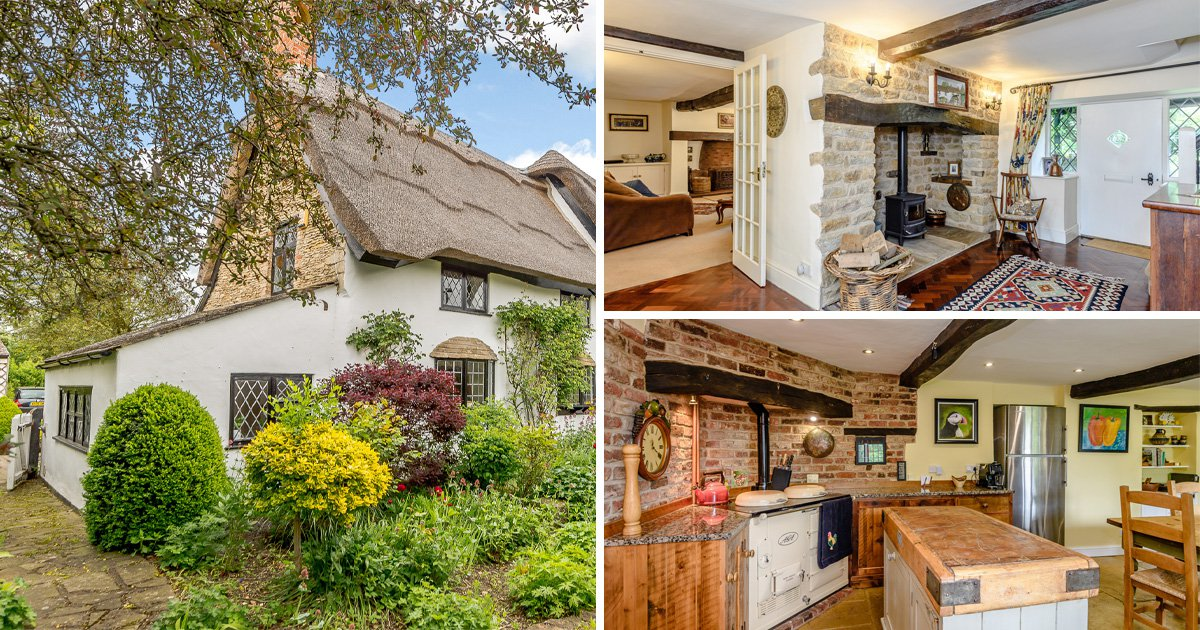 Cottage that featured in Terry's chocolate orange advert up for sale