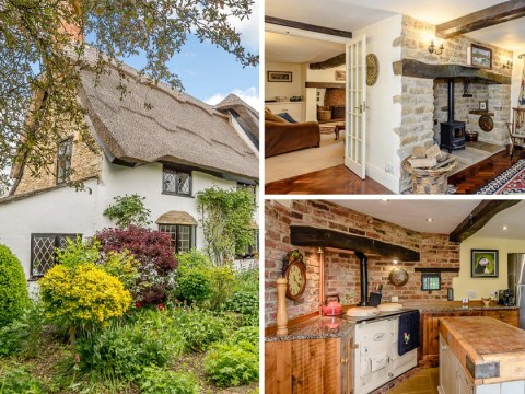 Fancy living in a £850,000 cottage once featured in a Terry's Chocolate Orange advert?