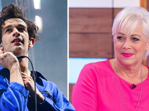 Denise Welch is a proud mum as she watches The 1975's Matt Healy at Coachella