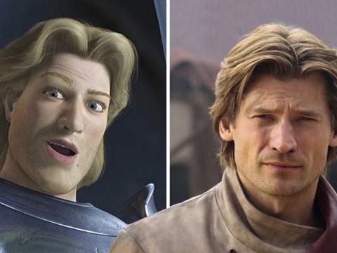 Game Of Thrones' Nikolaj Coster-Waldau thinks Jaime Lannister looks like Prince Charming from Shrek