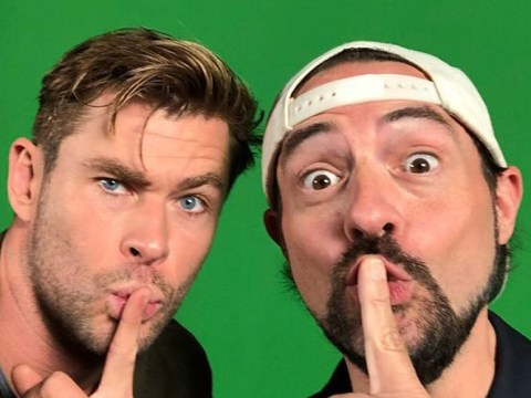Avengers star Chris Hemsworth and Kevin Smith join forces as Thor takes on Jay And Silent Bob