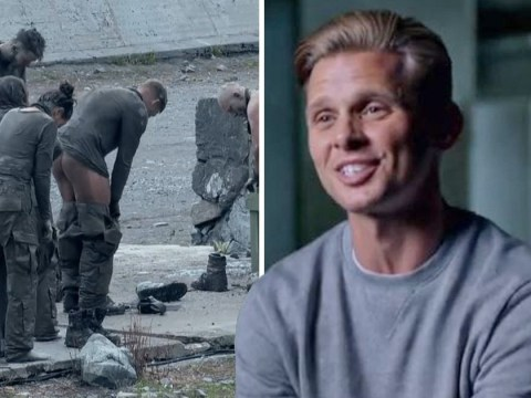 Celebrity SAS: Who Dares Wins's Jeff Brazier apologises as he gets his penis out