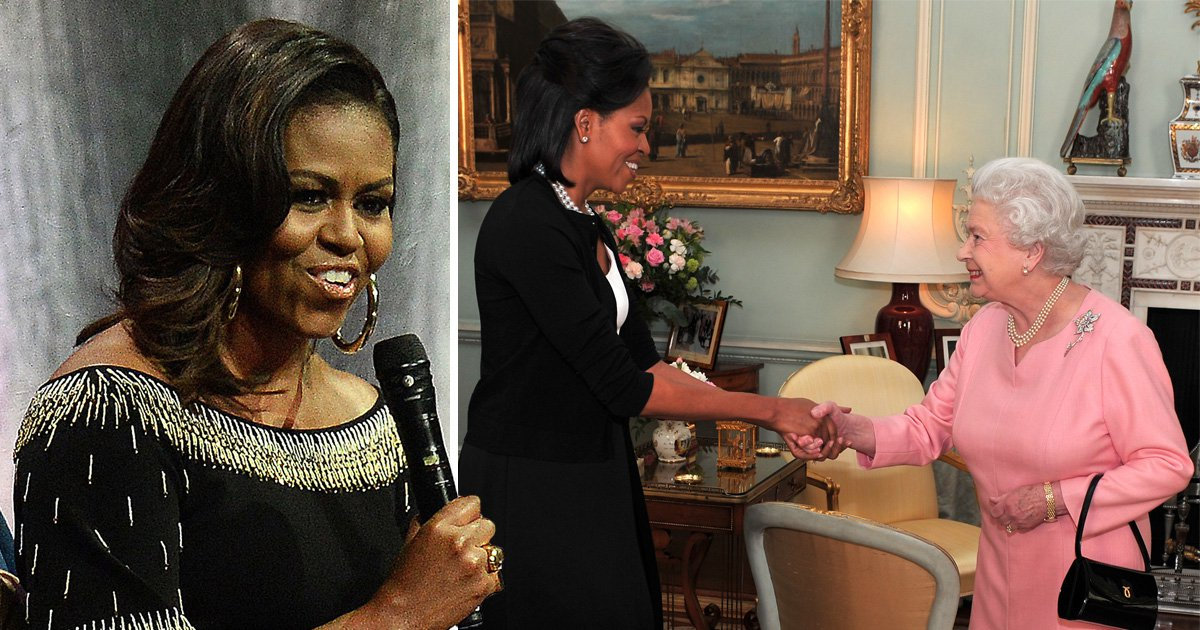 The Queen has a 'wonderful intelligence and wit' says Michelle Obama