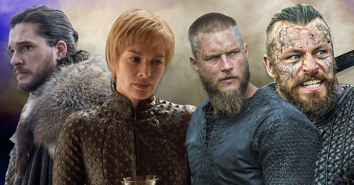 The Vikings cast have suggested a crossover with Game of Thrones (Picture: Rex/HBO)