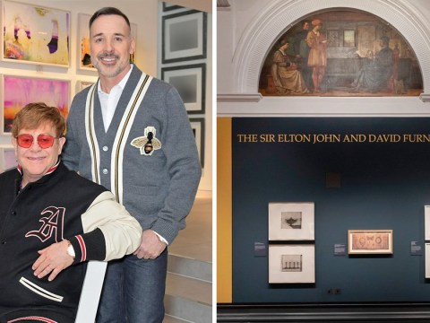 Elton John and David Furnish are couple goals with new V&A exhibition collaboration