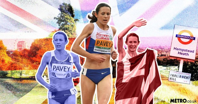 Olympic icon Jo Pavey shares her favourite running spots in London
