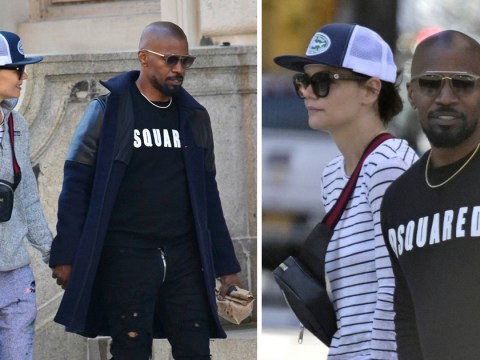 Jamie Foxx and Katie Holmes enjoy romantic stroll after split rumours