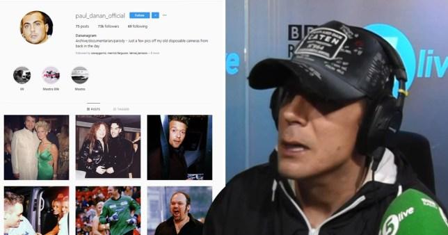 Paul Danan admits he set up the spoof Instagram Dananagram