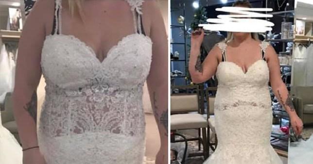 Bride Is Urged To Burn Awful Wedding Dress After Sharing Photos Metro News