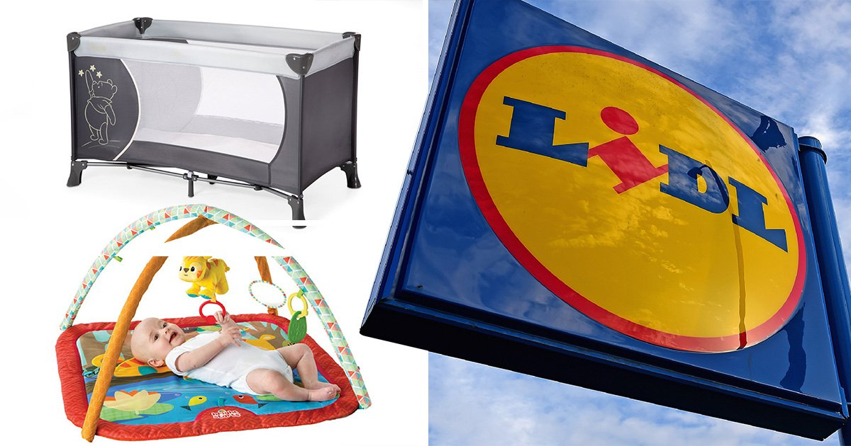 Lidl launches huge mother and baby sale with prices starting from 99p