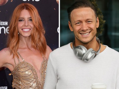Strictly Come Dancing's Stacey Dooley supports 'boyfriend' Kevin Clifton on tour