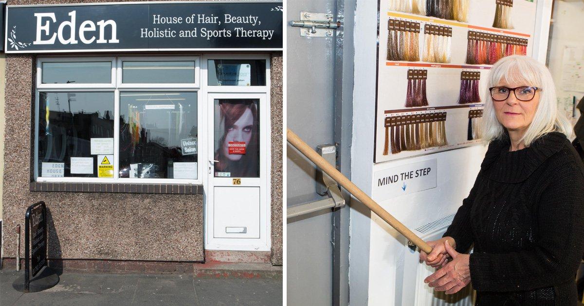 Brave gran uses mop handle to hold intruder 'hostage' until police arrive