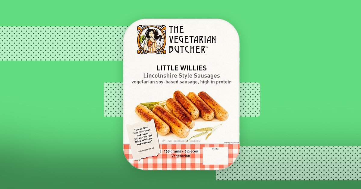 Tesco is selling 'Little Willies' sausages for £3 and the internet is amused