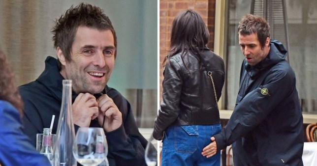 Liam Gallagher packs on PDA with girlfriend Debbie Gwyther