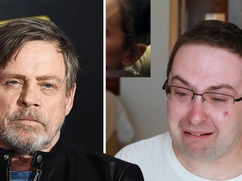 Mark Hamill praises 'passionate' Star Wars fan's emotional response to Rise Of Skywalker trailer