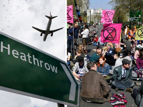 Extinction Rebellion 'threaten to shut down Heathrow over Easter'