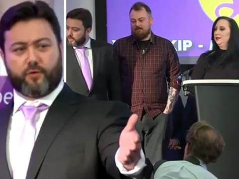 Utterly shambolic start to Ukip's EU election bid