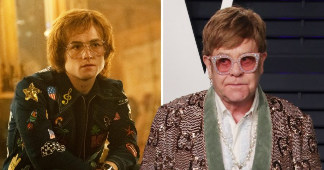 Taron Egerton as Elton John in biopic Rocketman