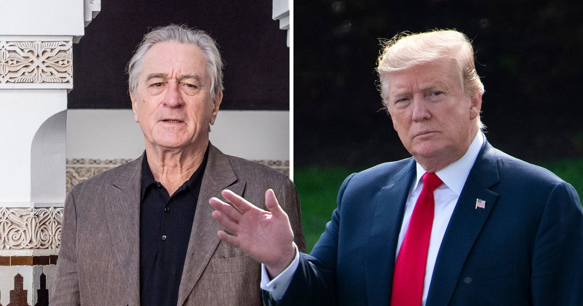 Robert de Niro hits out at 'total loser' President Trump: 'Even gangsters have morals'