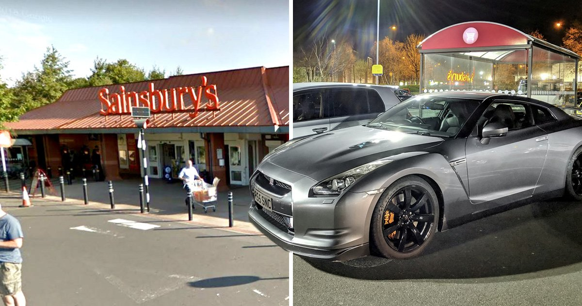 Boy racers fined £13,000 after gathering to show off in Sainsbury's car park