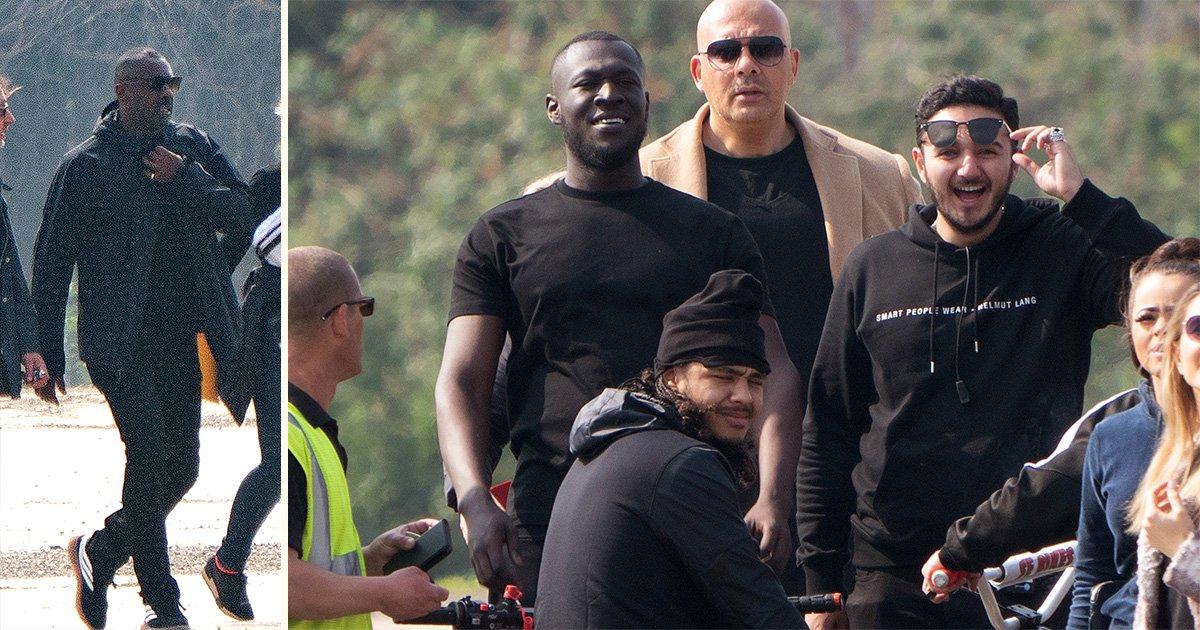 Stormzy Idris Elba music video behind the scenes