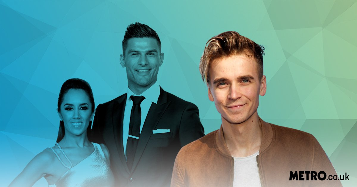 Strictly Come Dancing's Joe Sugg, Aljaz Skorjanec and Janette Manrara