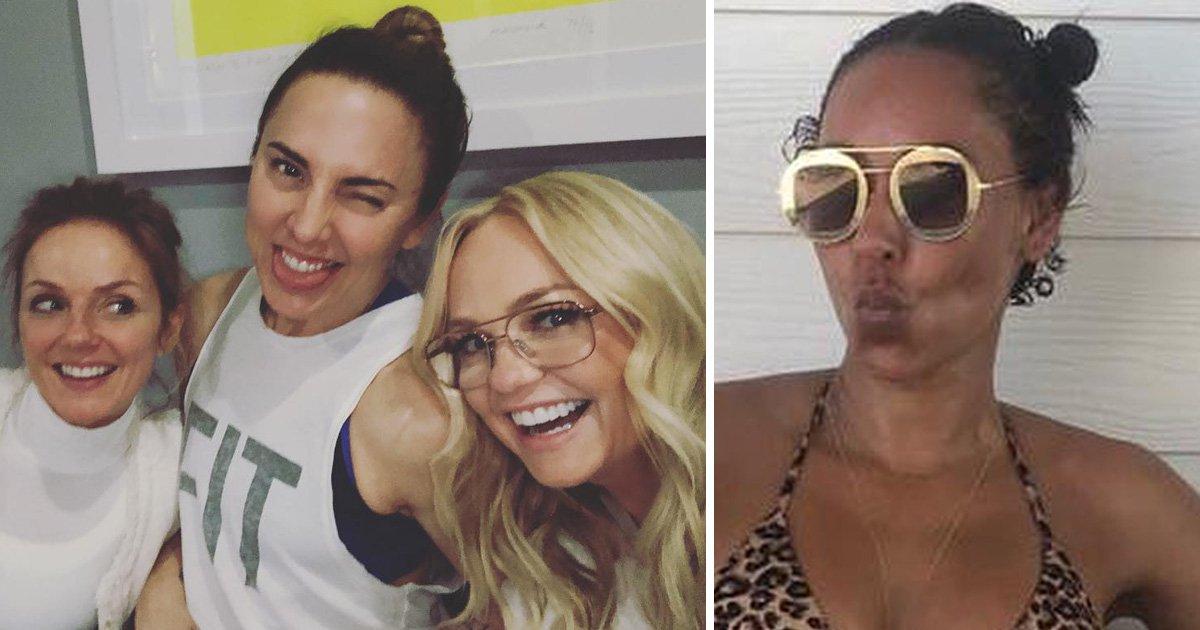 Spice Girls Emma Bunton, Geri Horner and Mel C share adorable Easter selfie without Mel B