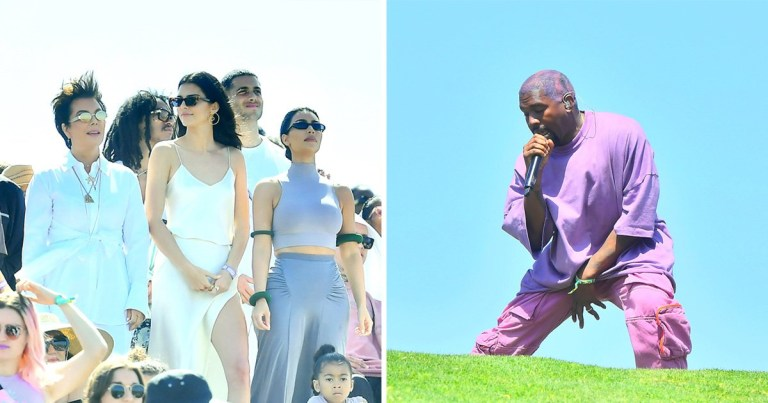 Kanye West's Sunday Service church at Coachella
