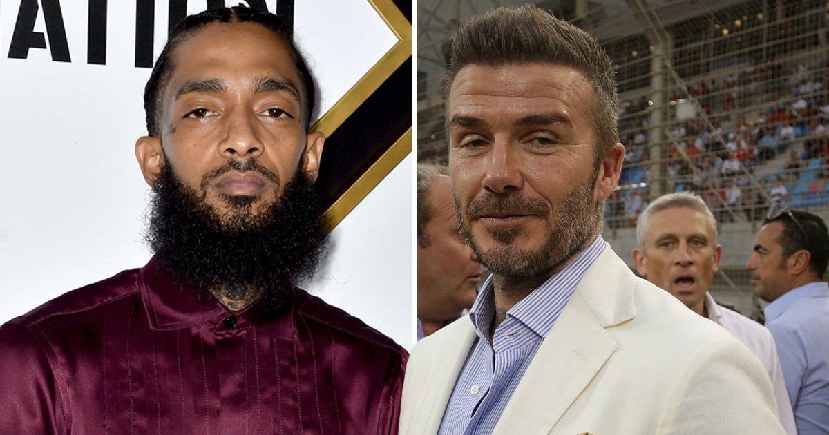 David Beckham shares heartbreak over Nipsey Hussle's death: 'He will forever be with us'