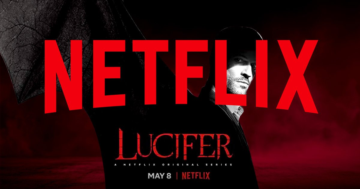 Poster for Netflix's season four of Lucifer