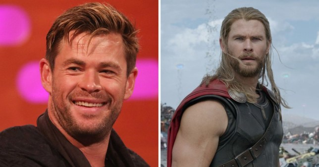 """Chris Hemsworth who has said his career was """"debatable"""" before he was cast as Thor"""