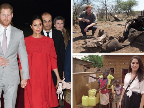 Harry and Meghan's move to Africa 'could cost taxpayers more than £1,000,000'