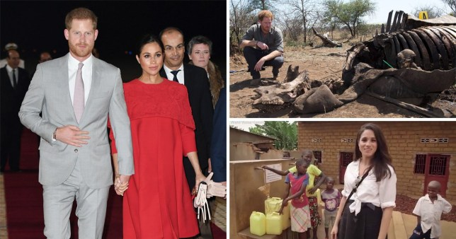 Concerns over cost of security if Meghan and Harry move to Africa
