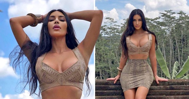 Kim Kardashian did not have to slay like this for Bali holiday, but she did anyway