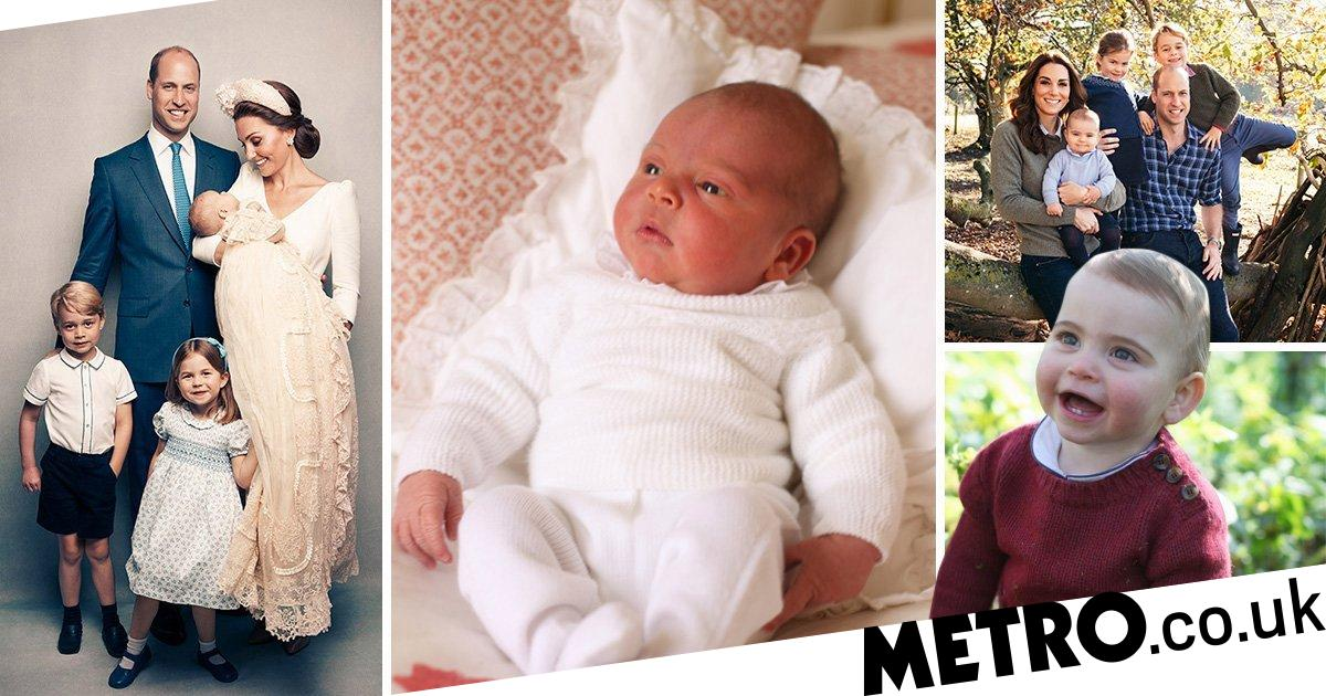 Prince Louis pictures as he celebrates first birthday - every official photo
