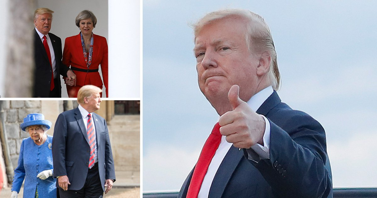 Donald Trump to make three-day state visit in early June after invitation from the Queen