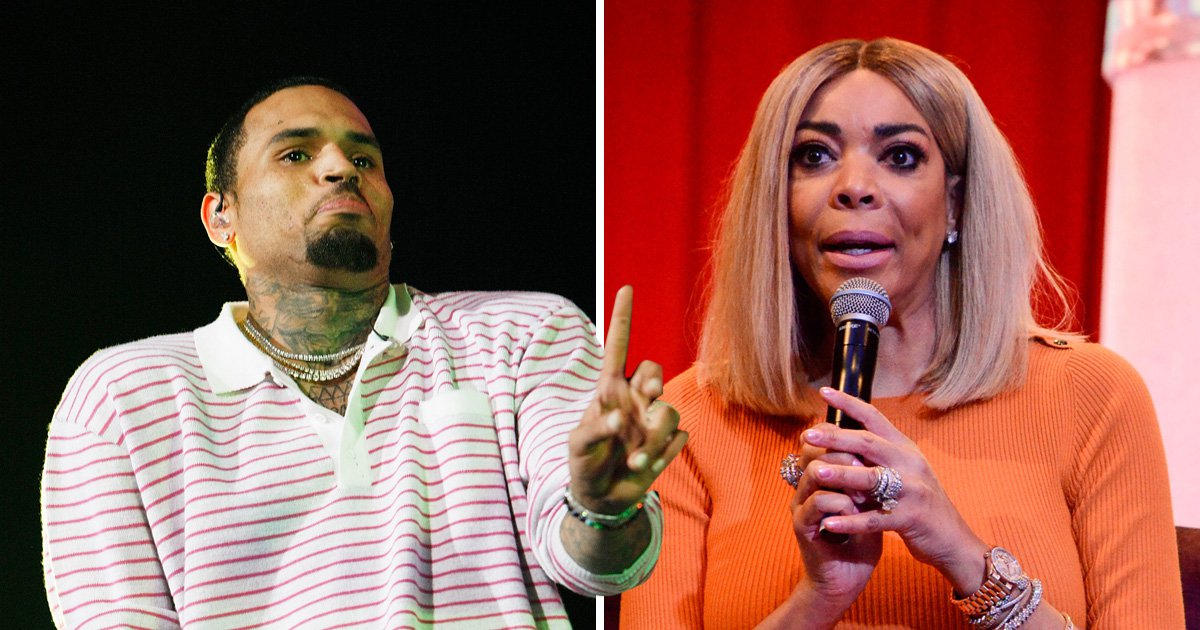 Chris Brown 2018 BET Experience Live! in Los Angeles alongside Wendy Williams