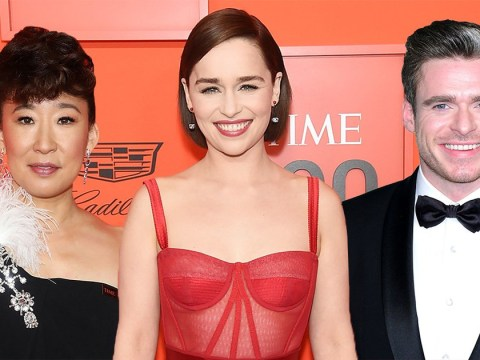 Emilia Clarke, Sandra Oh and Richard Madden represent golden age of telly at Time 100 Gala