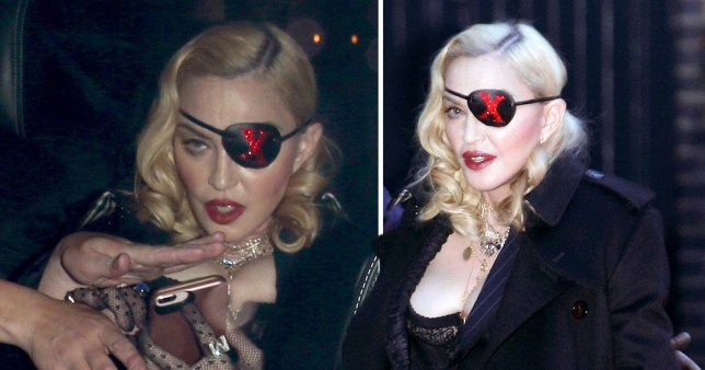 Madonna heads to her Medellin music video launch in London