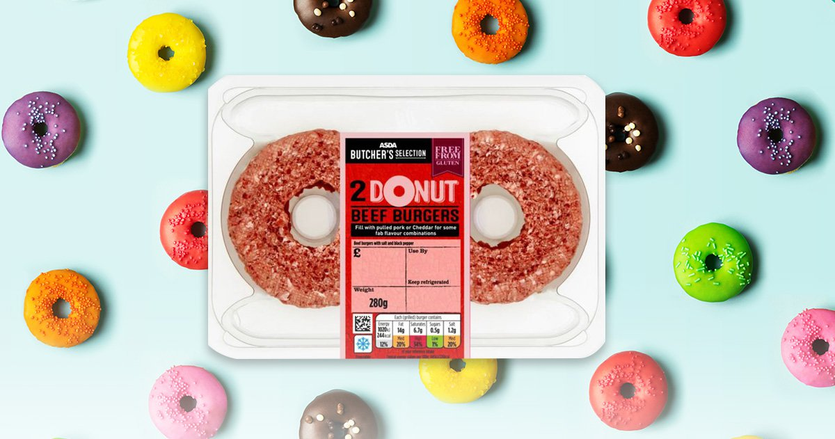 Asda launches £2 donut burgers that are perfect for bagels