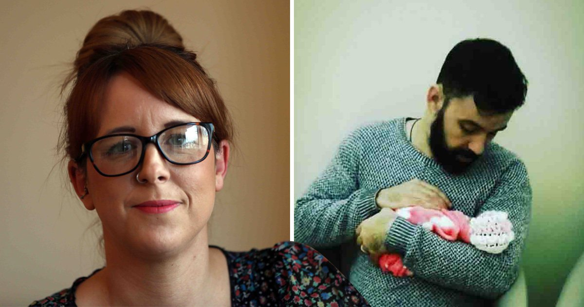 Mum Gemma Race claims she wasn't allowed to go to the hospital when she realised something was wrong with her unborn baby (Picture: Andy Race/ncjMedia)