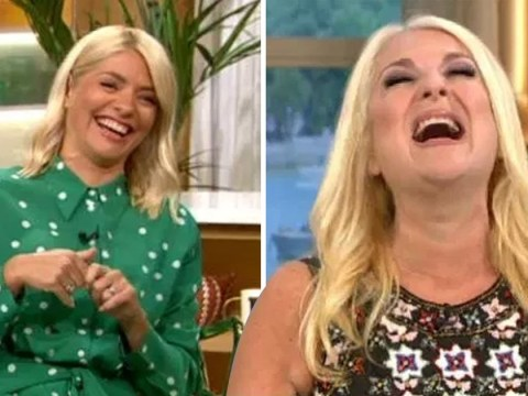 Phillip Schofield and Holly Willoughby in bits after Vanessa Feltz fakes orgasm on This Morning