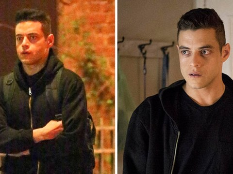 Rami Malek films Mr Robot in New York after being announced as villain for Bond 25