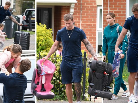 Dan Osborne returns home after partying with female friends amid Jacqueline Jossa split rumours