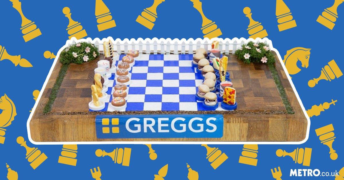 Greggs chess board