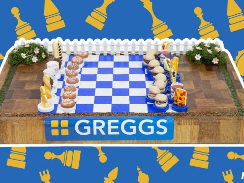 Someone's made a one-of-a-kind Greggs inspired chessboard that lets you play with pasties